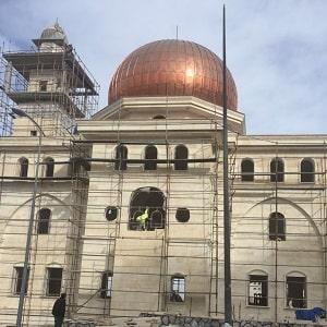 Ankara Bilkent Solmaz Cami Projesi Çelik Konstrüksiyon Kubbe İmalat ve Montajı