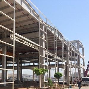 Çelik Konstrüksiyon | Çelik Cephe Sistemleri