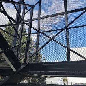 Çelik Yangın Merdiveni