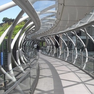 Çelik Yürüme Platformu, yürüyüş yolu, çelik üst geçit, çelik köprü.