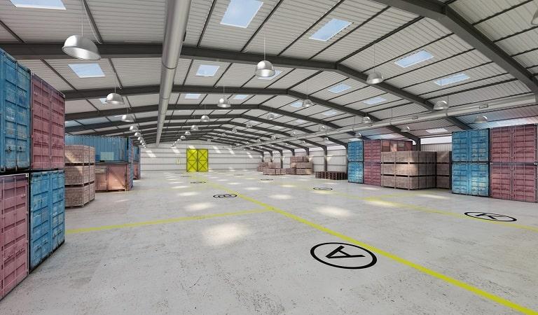 Hangar depo modelleri, silindirik hangar, prizmatik hangar.