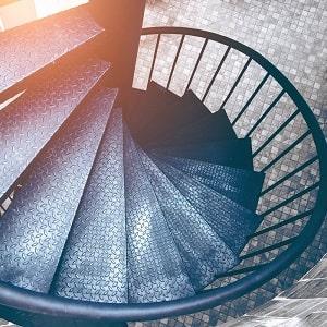 Spiral Merdiven, Dairesel Merdiven