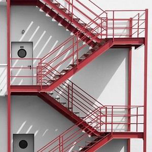 Yangın Merdiveni, yangın merdiveni fiyatı, ölçüleri, modelleri.