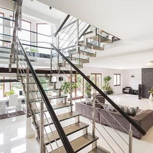 Z tipi merdiven, çelik merdiven.