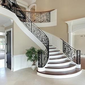 Ferforje korkuluk, ferforje merdiven korkuluğu.