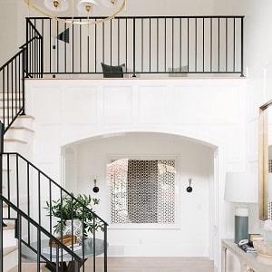 Paslanmaz çelik korkuluk, paslanmaz çelik merdiven korkuluğu.