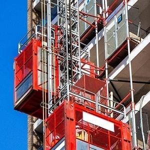 Alimak kapıları, inşaat asansörü, inşaat yük taşıma.